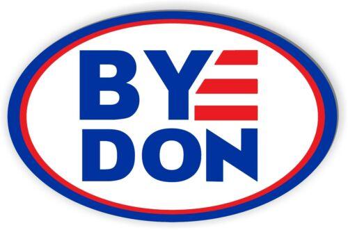 BYEDON Car magnet Joe Biden for President 2020 Magnetic Bumper Sticker oval