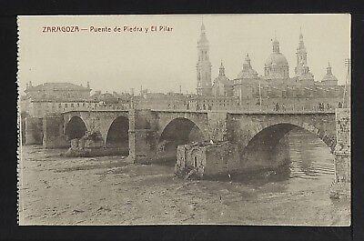 3293-ZARAGOZA -Puente de Piedra y El Pilar
