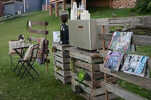 Pallet Furniture Bar Cafe setup Wedding North Wollongong Wollongong Area Preview