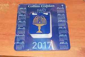 Daily Tear Off Block Desk Calendar 2017, Collins Colplan