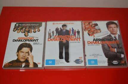 Arrested Development Season 1, 2 and 3 DVD Sets Hoppers Crossing Wyndham Area Preview