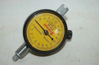 Starrett  No. 81-261  Dial Indicator .002 Mm - .5 Mm Range Jeweled