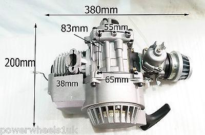 ENG01 COMPLETE MINIMOTO QUADARD / MINI QUAD ENGINE 49CC