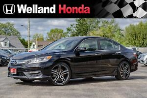 2016 Honda Accord Sport | ONE OWNER | LOW KMS | LOCAL TRADE