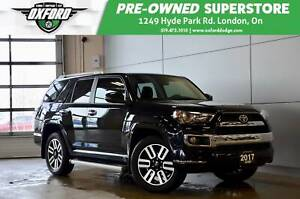 2017 Toyota 4Runner Limited - one owner, clean carfax, low kms