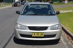 2000 Mazda 323 Sedan AUTO,AIR,STEER,REGO CHEAP CHEAP CHEAP Pendle Hill Parramatta Area Preview