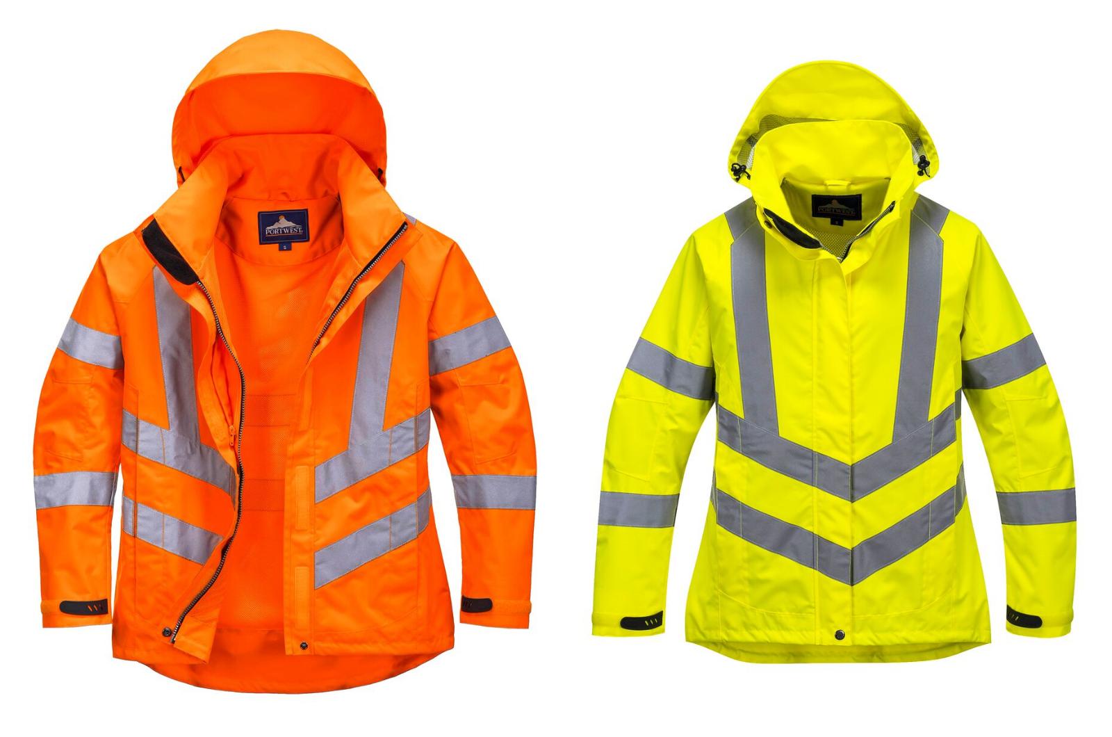 Portwest LW70 Ladies Hi Vis Breathable Jacket Bodywarmer Coa