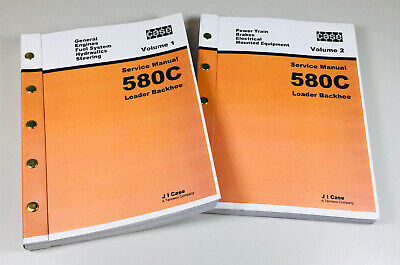 Case 580c Ck Loader Backhoe Service Technical Manual Repair Shop Tractor Engine