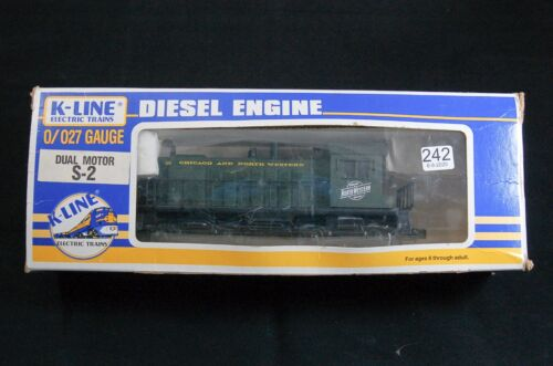 Chicago and North Western S-2 switcher model train engine O gauge K-Line