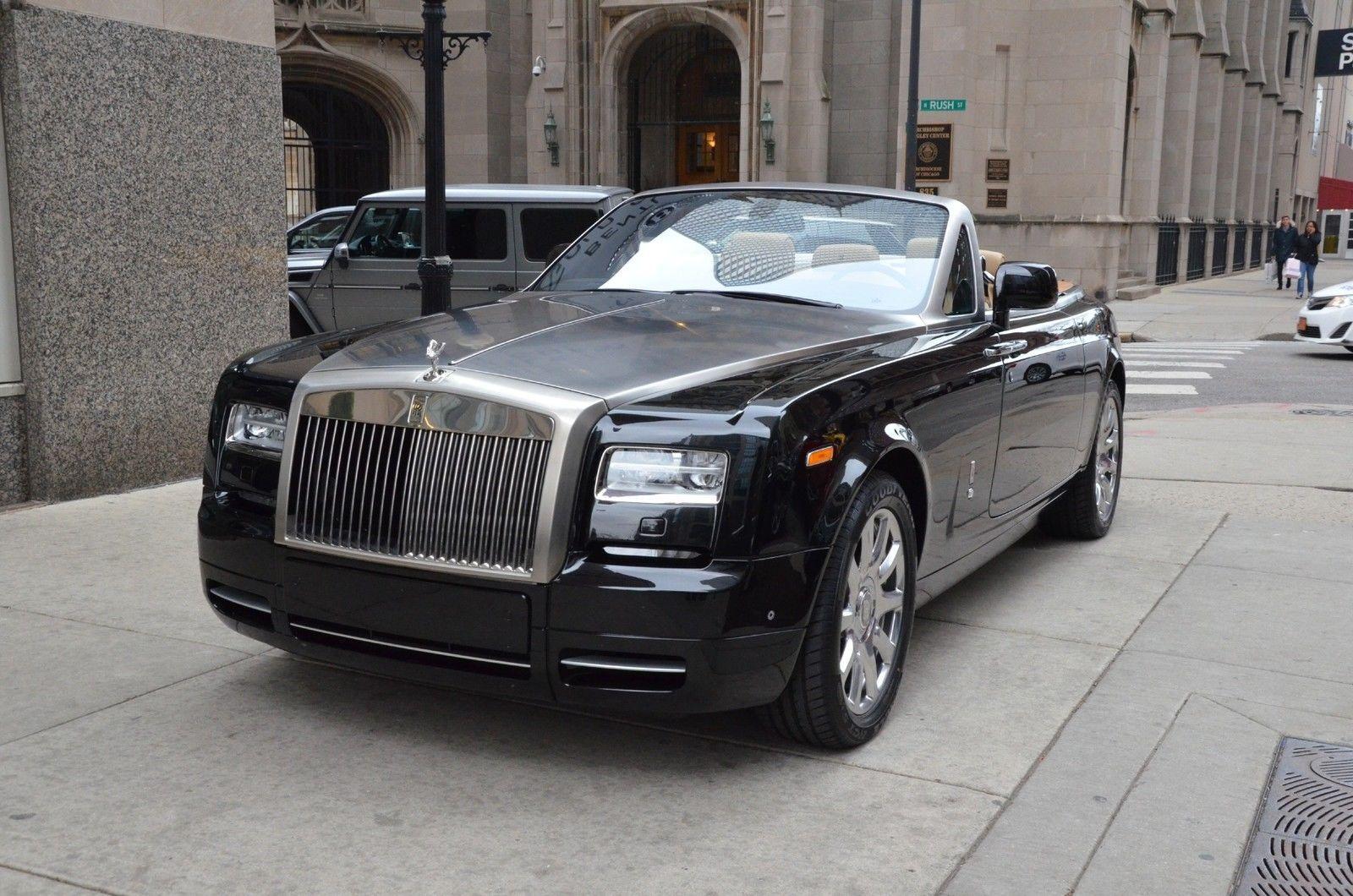 2014 rolls royce phantom drophead coupe convertible