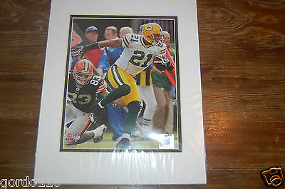 Charles Woodson 21 Green Bay Packers Browns 8x10 Photo NFL Licensed Photo File