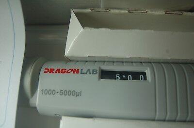 121c Autoclavable Digital Micro Pipette Single Channel Adjustable 1000-5000 Ul