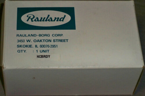 NEW Rauland-Borg Responder NCBRDY Nurse Call Bed Ready Duty Station, NIB NOS OME