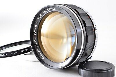 【RARE MINT】 Canon 50mm F0.95 Dream Lens For 7 7s Leica LTM L39 From JAPAN 916S