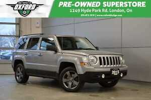 2015 Jeep Patriot High Altitude - one owner, mostly highway kms,