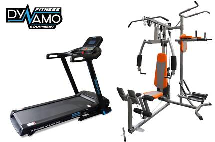 Home Gym & Treadmill Package NEW in Box with Warranty