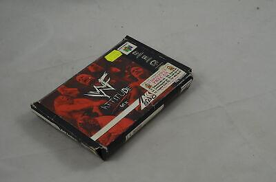 WWF Attitude N64 Spiel CIB (gut) #4394