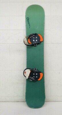 ac29faa85f10 Oxygen 149cm Twin-Tip All-Mountain Snowboard w Burton Step-In Bindings Large