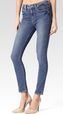 Paige Denim 1767984-4301 Hoxton High Waist Ankle Skinny Jeans in Emma