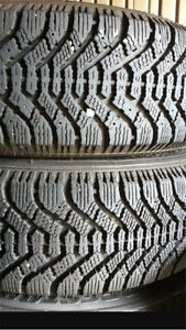 ^** 185/65/15 GOODYEAR WINTER TIRES & RIMS