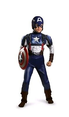 Captain America: The First Avenger Boys Costume Halloween - Captain America Halloween-kostüm
