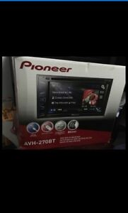 Pioneer DVD deck with touch screen brand new