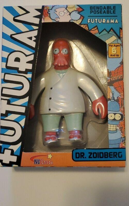 Dr. Zoidberg Bendable Figurine Futurama
