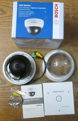 New Nos Bosch Vdc-250f04 Integrated Day Night Dome Camera