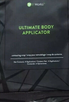 2 X Packs = 8 WrapsIt Works' Ultimate Body Applicator.