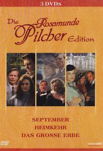 ROSAMUNDE-PILCHER-September-REGRESO-El-gran-Erbe-3-Caja-de-DVD-EDITION-Nuevo