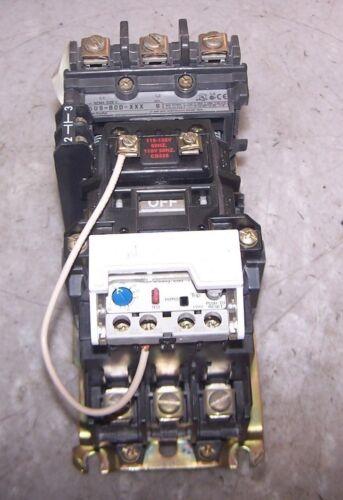 ALLEN BRADLEY SIZE 1 MOTOR STARTER 120 VAC COIL 600V 10 HP 1.0-2.9A 509-BOD-XXX
