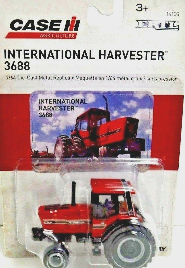 ERTL 1/64 SCALE INTERNATIONAL HARVESTER 3688 TRACTOR MODEL | BN | 14135