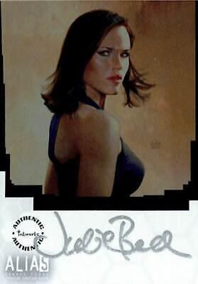Alias Temporada 3 (Inkworks/2004) Julie Bell Autógrafo Aluminio Estuche Carga