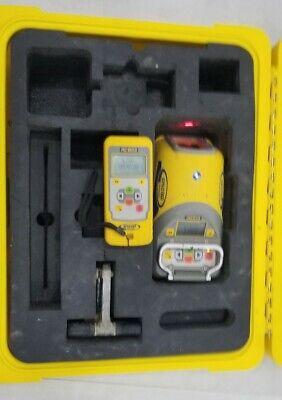 Dg613 Trimble Spectra Precision Pipe Laser Rc803 Red Beam. Topcon Spectra Leica
