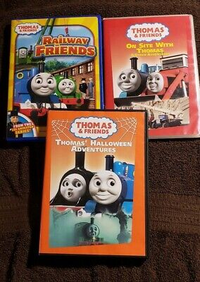 Child Friendly Halloween Movies (Thomas & Friends Kid's Dvd Lot Thomas' Halloween Adventures, On Site With)