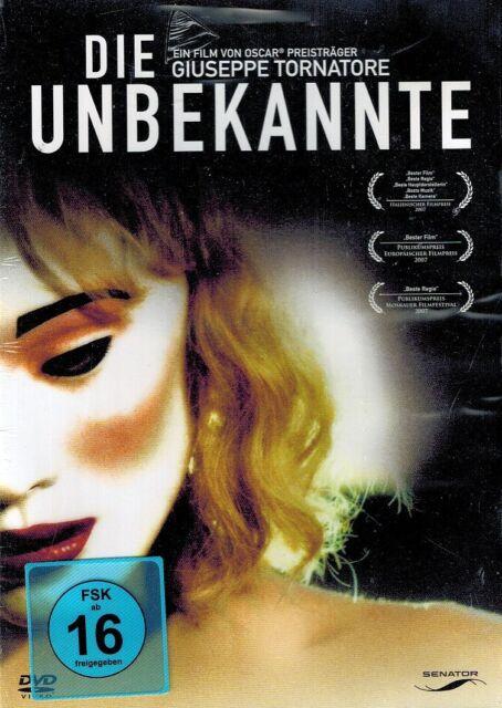 DVD NEU/OVP - Die Unbekannte - Ksenia Rappoport & Michele Placido