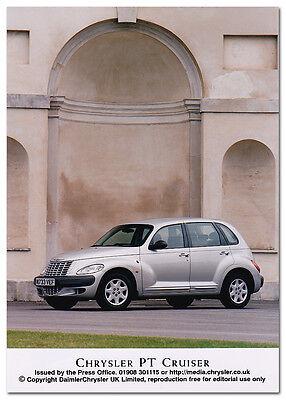 Chrysler PT Cruiser Press Release Photograph