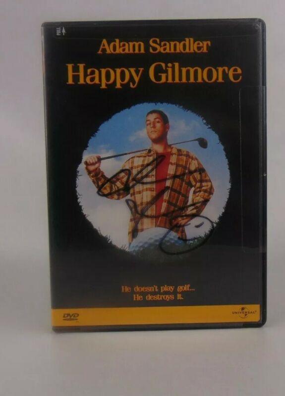 ADAM SANDLER SIGNED AUTOGRAPHED HAPPY GILMORE DVD Signature