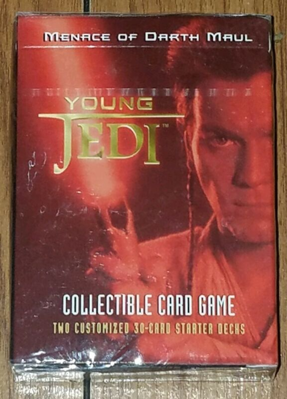 Decipher Star Wars Young Jedi Card Game Battle of Naboo Starter Deck New!