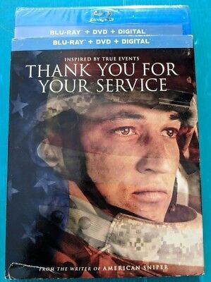 NEW Thank you for your service Blu-ray & DVD NO DIGITAL BLUERAY bluray - Thank You Movie