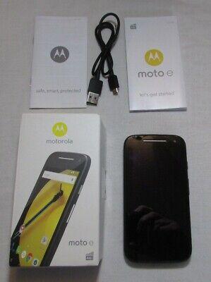 Motorola Moto E XT1524 - 8GB - Black (Unlocked) Smartphone (2nd Gen.) REF:9T53