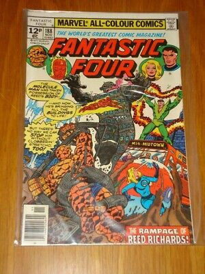 FANTASTIC FOUR #188 MARVEL COMIC NOV 1977 VF (8.0) *