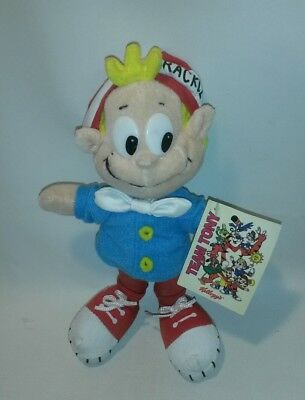 ☆ 2002 KELLOGG CEREAL PLUSH CHARACTER TEAM TONY CRACKLE FROM RICE CRISPYS F/SHIP