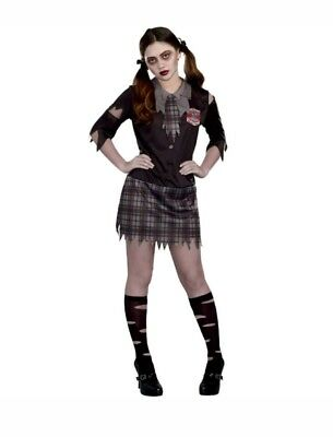 High School Horror Juniors Halloween Costume - Medium 9-11