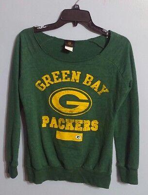 ce2c75d55 Green Bay Packers NFL Junior s Collection Green Long Sleeve Shirt!! Size  Medium!