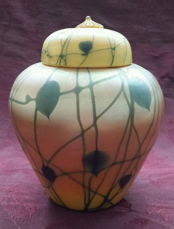 Durand Golden Luster Vase