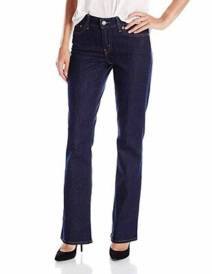 Levi's 415 Relaxed-Fit Bootcut Jeans, Dark Grove Wash .Size 28x32.  MSRP: $54.50 Levis Relaxed Fit Bootcut Jeans