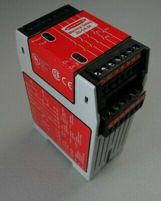 Banner Safety Relay Es-ga-5a Emergency Stop Safety Module
