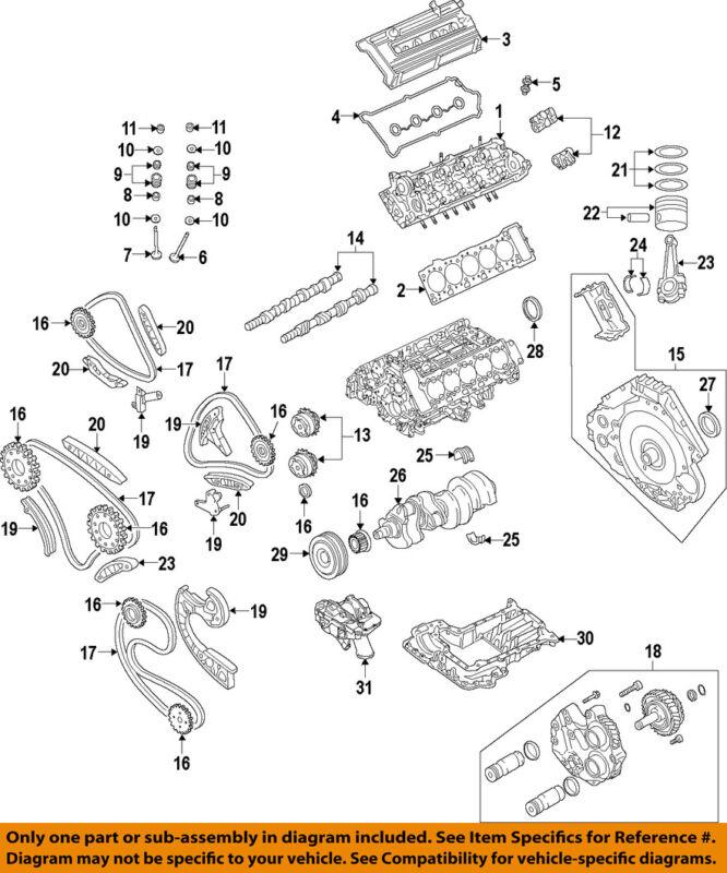 Audi Oem 2010 R8-engine Cylinder Head 07l103064ak