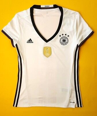 8f71ca5ee82 5+ 5 Germany women jersey medium 2016 home shirt AA0137 soccer Adidas ig93